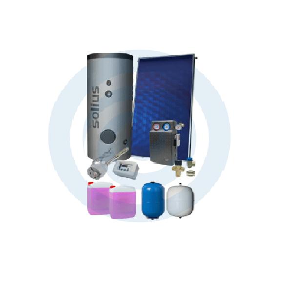 Loja da Climatização PACOTE SOLAR Nº 1 HIDROMANTEL 200L + SILVERSOL 3 XL