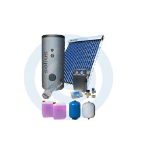 Loja da Climatização PACOTE SOLAR Nº 1 HIDROMANTEL 200L + TUBOSOL HP 20