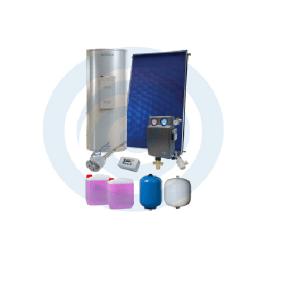 Loja da Climatização PACOTE SOLAR Nº 1 TERMOINOX 200L + SILVERSOL 3 XL
