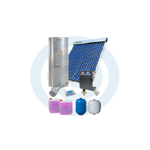 Loja da Climatização PACOTE SOLAR Nº 1 TERMOINOX 200L + TUBOSOL HP 20