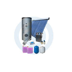 Loja da Climatização PACOTE SOLAR Nº 2 HIDROMANTEL 300L + TUBOSOL HP 30 TUBOS