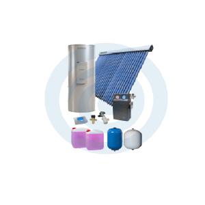 Loja da Climatização PACOTE SOLAR Nº 2 TERMOINOX 300L + TUBOSOL HP 30 TUBOS